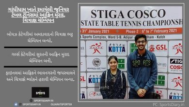Junior Gujarat State Table Tennis